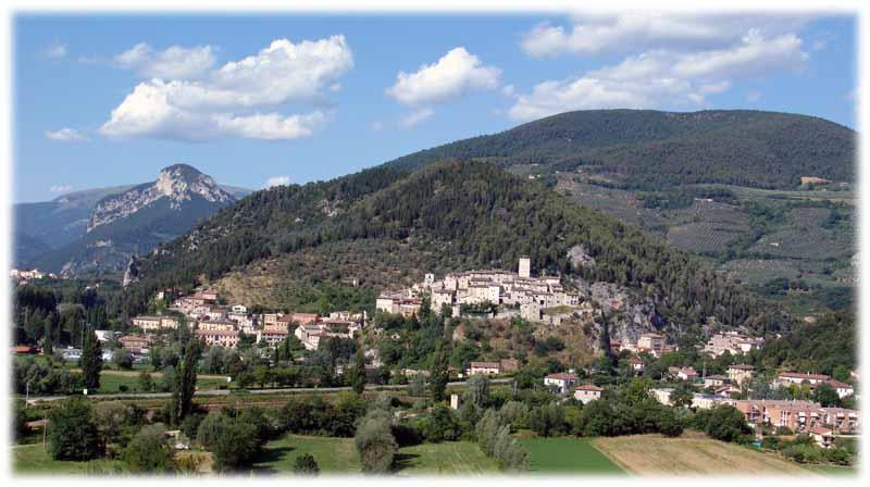 un village en Italie